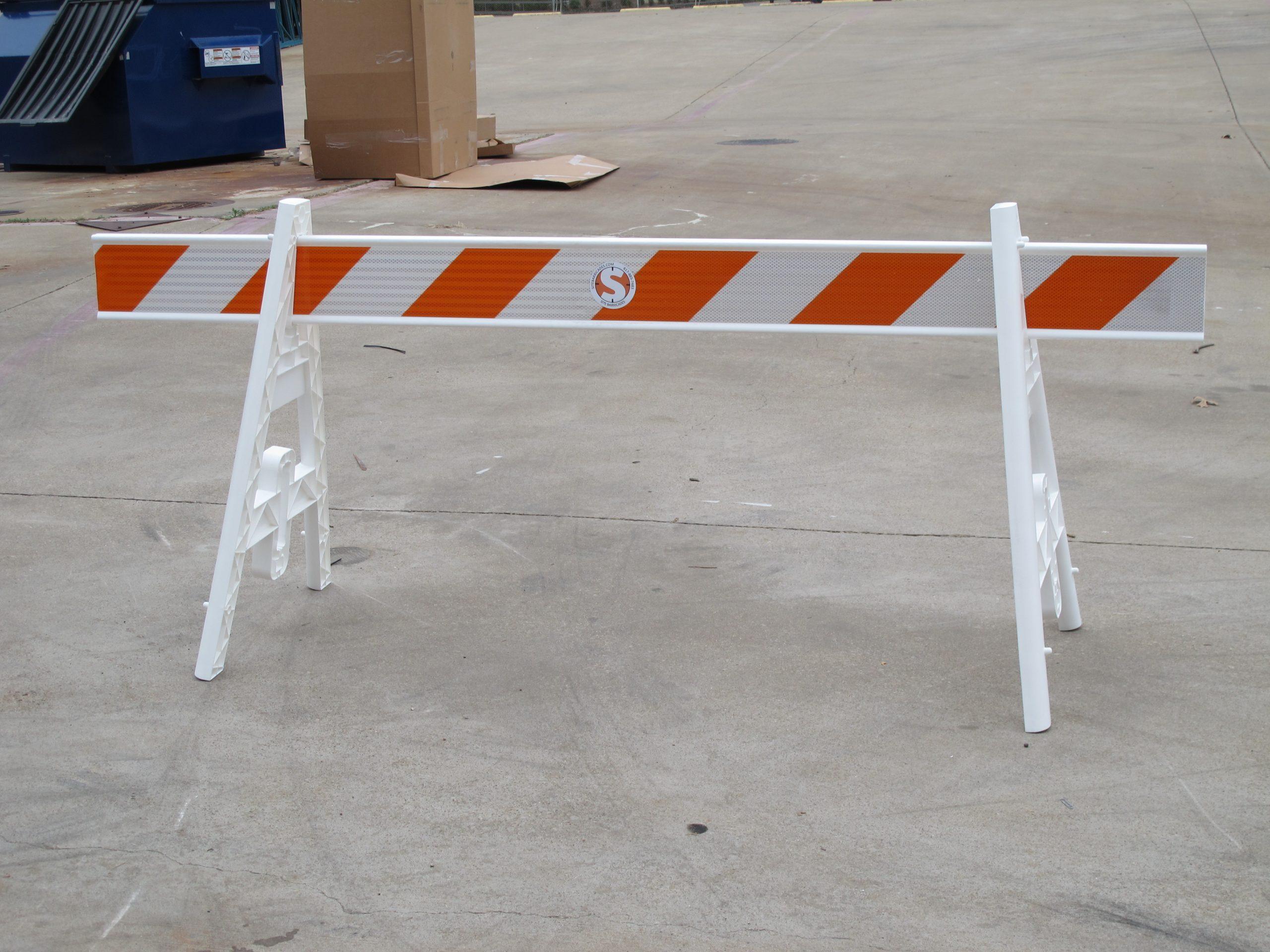 Site Barricades Type I Type 1 barricade rental