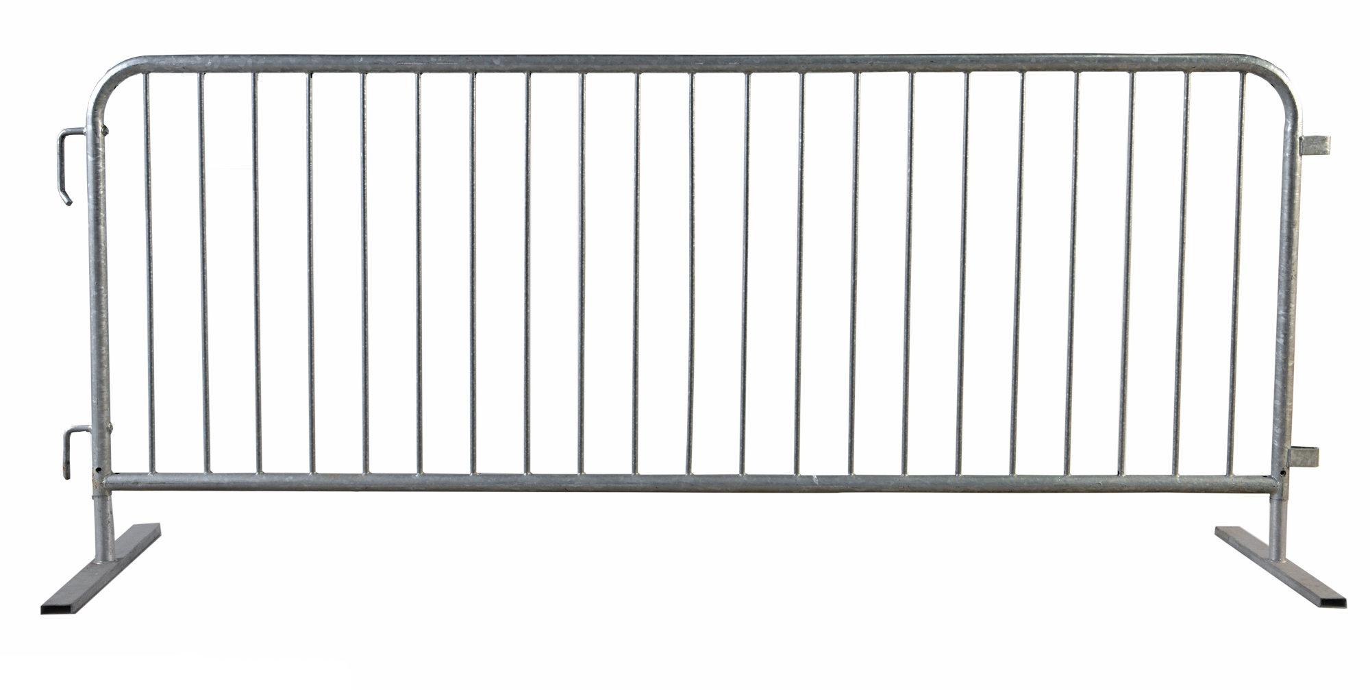 Site Barricades Pedestrian Steel Barricade