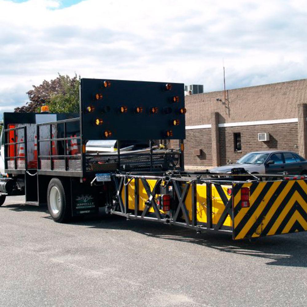 Site Barricades Attenuator Truck