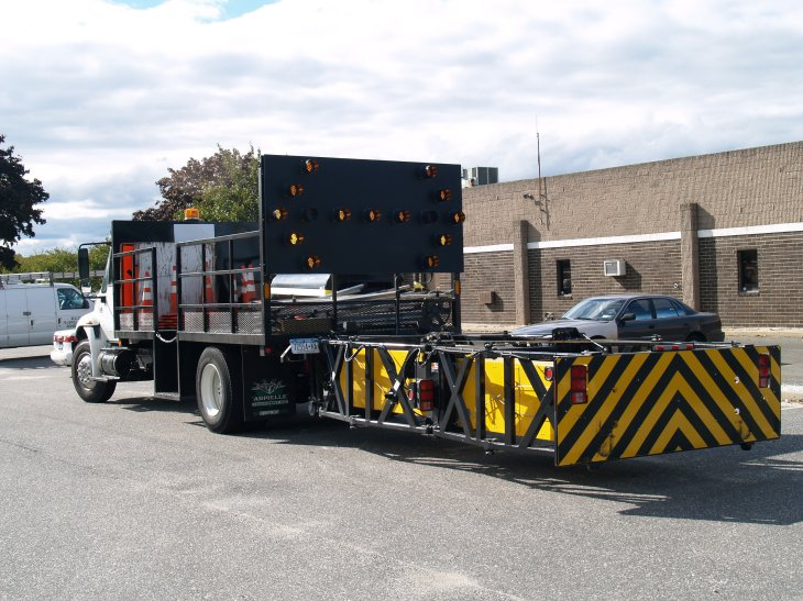 Truck Mounted Attenuator from Site Barricades